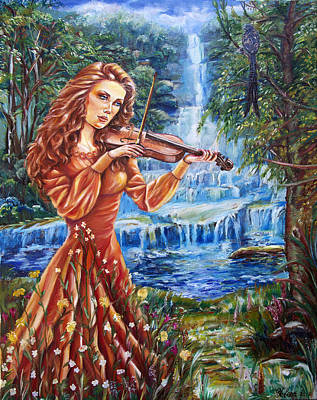 Painting - Serenade by Yelena Rubin