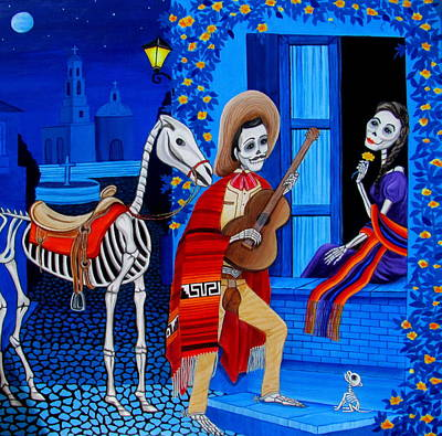 Serenata Art Print by Evangelina Portillo