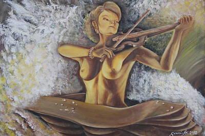 Painting - Serenata by Gani Banacia