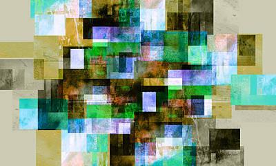 Digital Art - Serendipity - Abstract Art  by Ann Powell