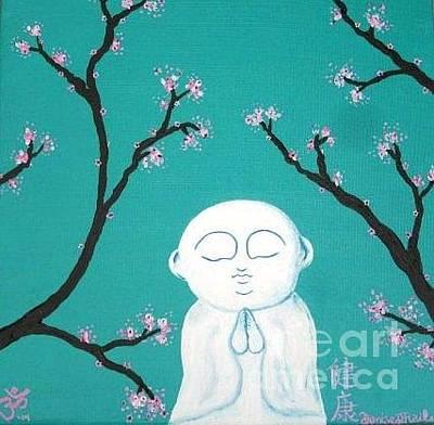 Painting - Serene Buddha by Denise Railey
