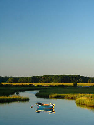 Skiff Wall Art - Photograph - Serene Cape Cod by Juergen Roth
