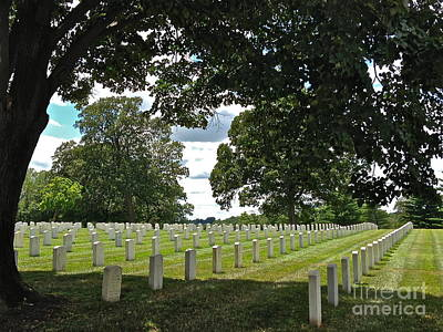Photograph - Serene Jefferson Barracks by Barbara Plattenburg