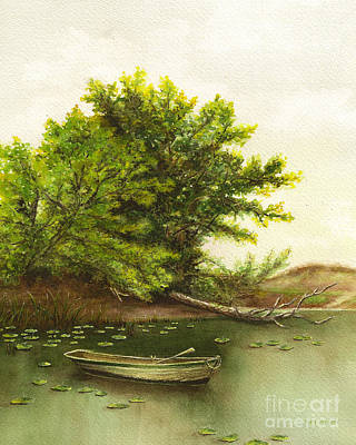 Painting - Serene Solitude by Nan Wright