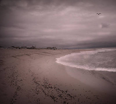 Surrealism Royalty-Free and Rights-Managed Images - Serene Storm by Bruce Rolff