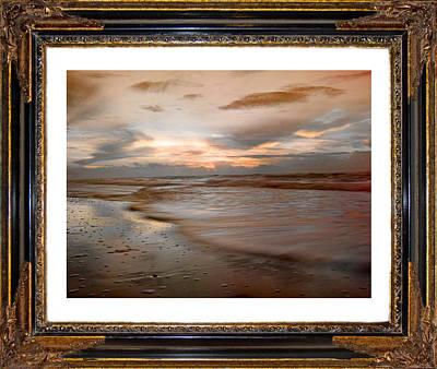Topsail Island Photograph - Serene Sunrise by Betsy Knapp