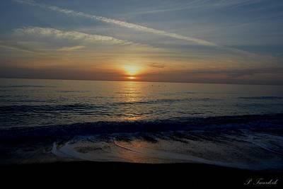 Nirvana - Serene Sunset Over Blue Waters by Patricia Twardzik