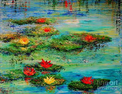 Painting - Serene by Teresa Wegrzyn
