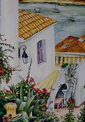 Serene Villa Art Print by Maris Liepins