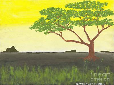 Serengeti Art Print by David Jackson