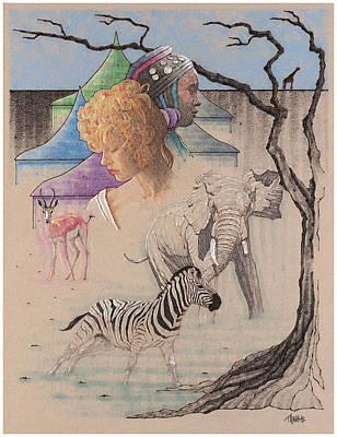 Serengeti Diary Art Print by Terry A White