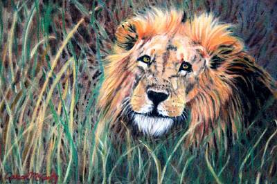 Serengeti Ruler Art Print