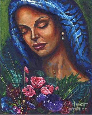 Serenity Art Print by Alga Washington