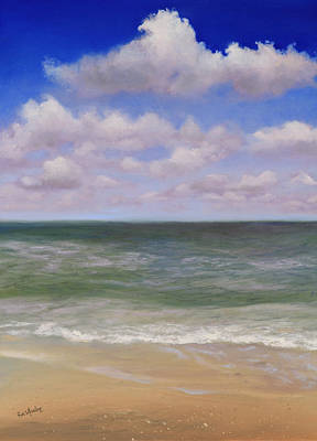Serenity At Sea Original by Eve  Wheeler