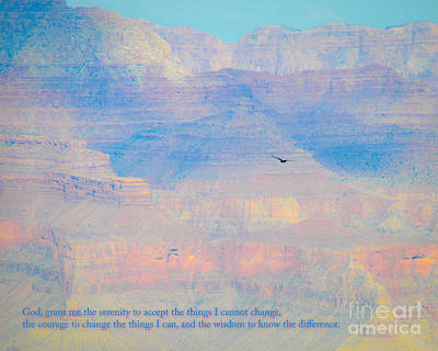 Photograph - Serenity At The South Rim by Cheryl McClure