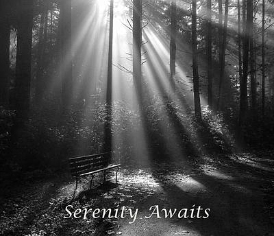 Photograph - Serenity Awaits by Brian Chase