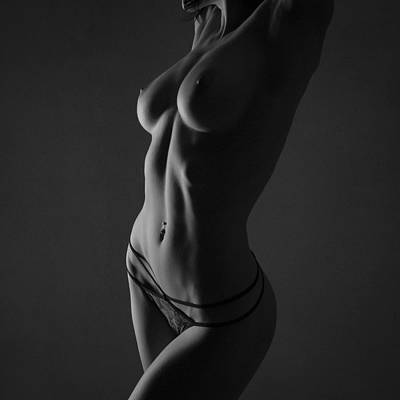 Woman Underwear Photograph - Serenity by Blue Muse Fine Art