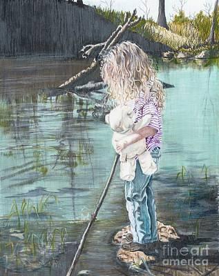 Serenity  Art Print by Charlotte Hastings