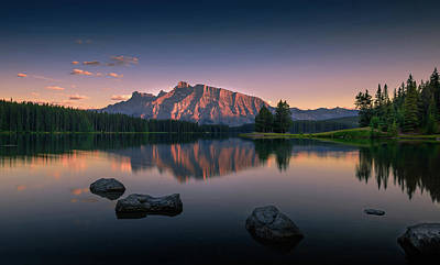 Banff Wall Art - Photograph - Serenity by David D