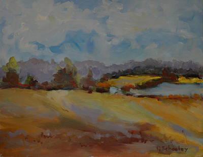 Maine Landscapes Painting - Serenity by Deborah  Schooley