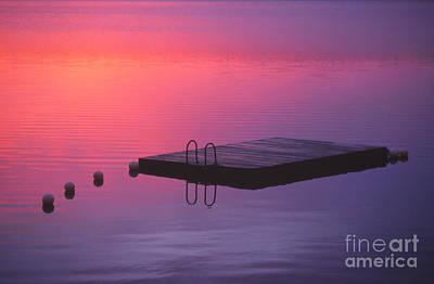 Dreamy Pink Park Scene Photograph - Serenity by Eva Kato