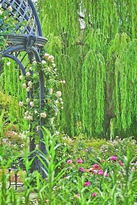 Photograph - Serenity Garden by Peggy Hughes
