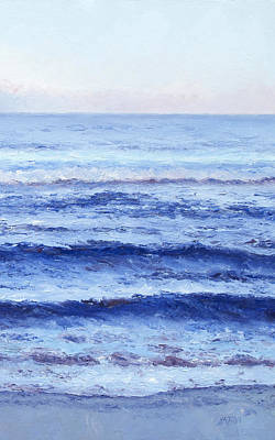 Myrtle Beach Painting - Serenity by Jan Matson