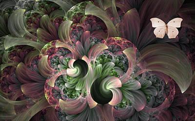 Serenity Art Print by Lea Wiggins