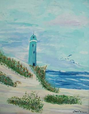 Painting - Serenity On Cape Cod by Daniel Nadeau