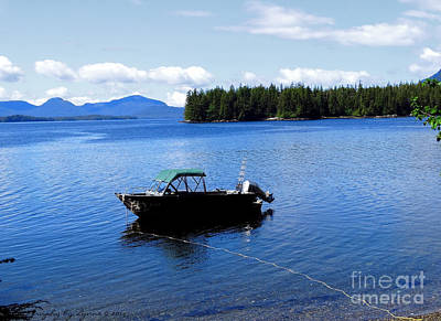 Serenity Outside Of Ketchikan Ak Art Print