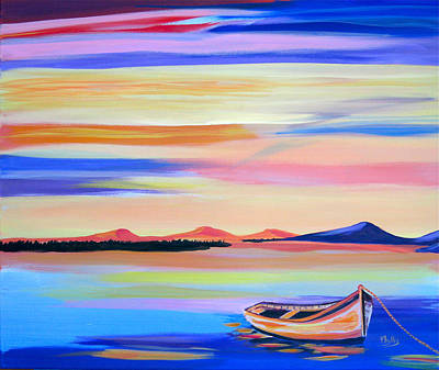 Painting - Serenity   by Phyllis Kaltenbach