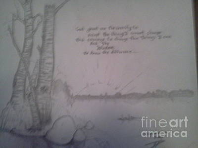 Serenity Prayer Original