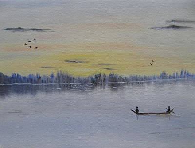 Serenity Art Print by Sayali Mahajan