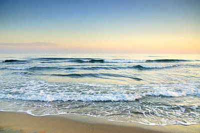 Serenity Sea Vintage Art Print by Guido Montanes Castillo