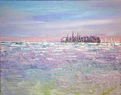 Serenity Sky - Sold Art Print
