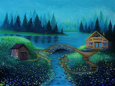 Painting - Serenity by Stefon Marc Brown
