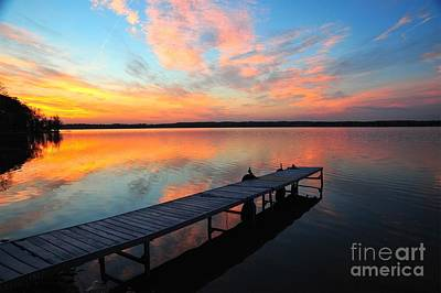 Art Print featuring the photograph Serenity by Terri Gostola