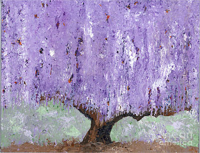 Painting - Serenity Willow by Laura Charlesworth