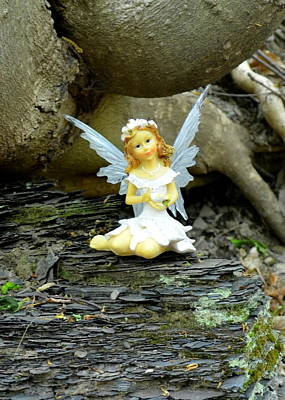Photograph - Serenity Woodland Fairies by Linda Rae Cuthbertson