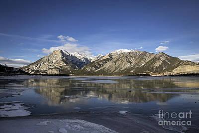 Banff Canada Photograph - Serenity's Shrine by Evelina Kremsdorf