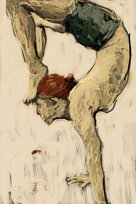 Painting - Serentiy by Chris Brown