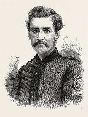 Sergeant Pullman, 2nd Middlesex Rifle Volunteers Print by English School