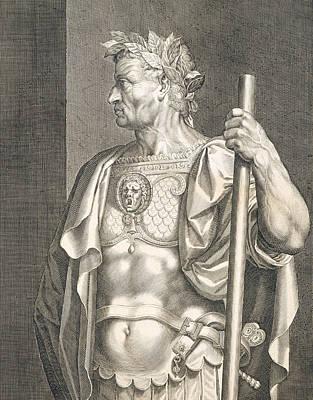 Sergius Galba Emperor Of Rome  Art Print by Titian
