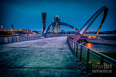 Photograph - Seri Gemilang Bridge 1 by Adrian Evans