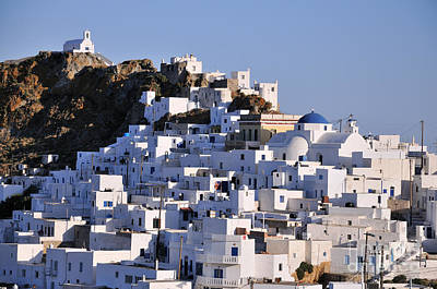 Photograph - Serifos Town by George Atsametakis