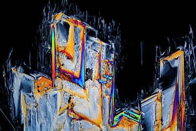 Serine Amino Acid Print by Antonio Romero