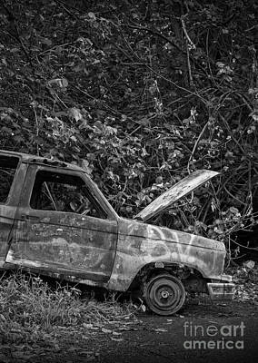 Photograph - Serious Car Trouble In The Tropics by Edward Fielding