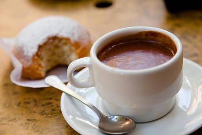 Photograph - Serious Hot Chocolate by Brad Brizek