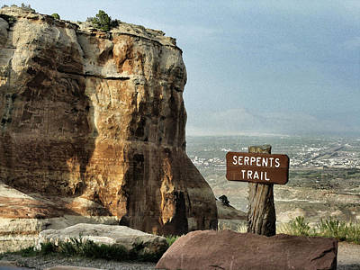 Photograph - Serpents Trail by Patricia Januszkiewicz