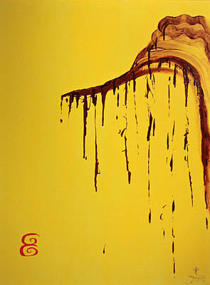 Sesame Honey Original by Phoenix The Moody Artist